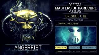 Video Official Masters of Hardcore Podcast 019 by Angerfist MP3, 3GP, MP4, WEBM, AVI, FLV November 2017