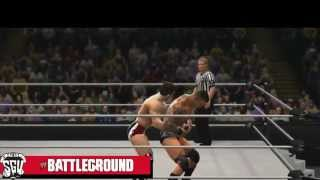 WWE Battleground 2013 Full Results & Reactions Live! (WWE 13)
