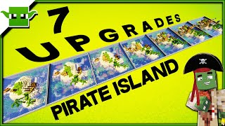 7 Upgrades to a Minecraft 1.14 Pirate Island (Speed Build)