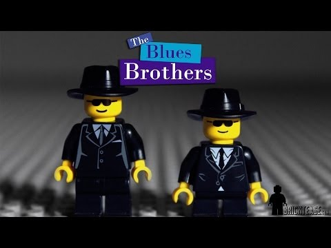 'Blues Brothers' Mall Chase Scene Recreated With Legos
