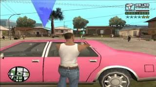 GTA San Andreas DYOM: CJ for Ballas