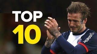 10 unvergessliche Momente mit David Beckham