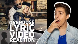 Agnez Mo x Chris Brown- OverDose (Official Lyric Video Reaction)| E2 Reacts