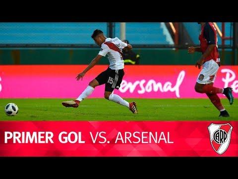 Gol de Exequiel Palacios vs. Arsenal