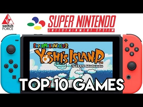 Top 10 Switch Virtual Console Games We Want - SNES Edition