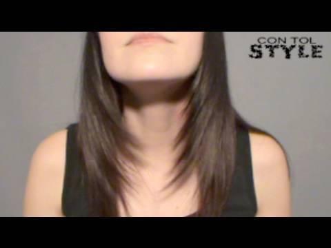 Desfilar el Cabello – How to trim your hair diagonally