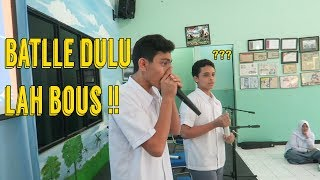 Video BEATBOX GUE DI KALAHIN ANAK SMA ?? | SansVlog MP3, 3GP, MP4, WEBM, AVI, FLV April 2018
