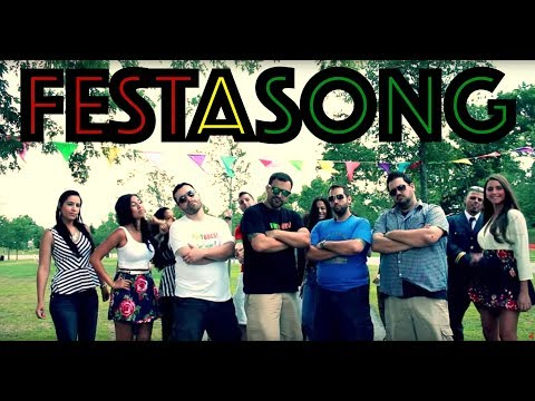 Festa - T-SHIRTS IN THE VIDEO ARE AVAILABLE AT www.portuguesecomedy.com/merchandise The Portuguese Kids are back with another song and this time it's a spoof on Thri...