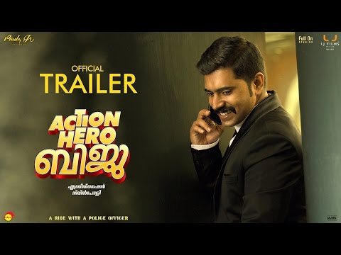 Action Hero Biju Malayalam Movie Trailer | Nivin Pauly