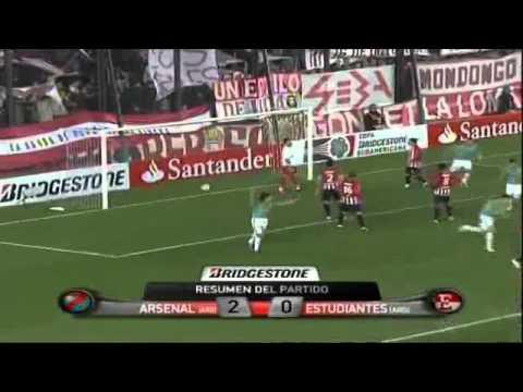 Arsenal vence a Estudiantes en el estadio Julio Humberto Grondona