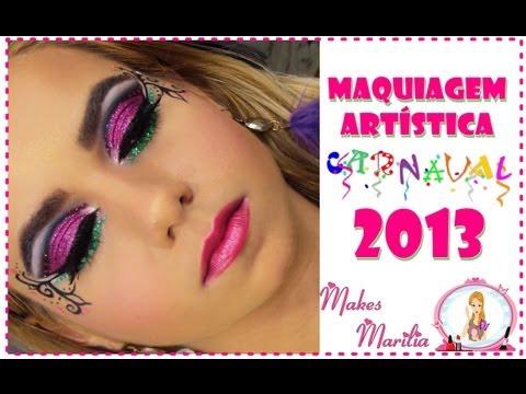 Maquiagem Artistica Passo a Passo 44 Maquiagem Art Stica