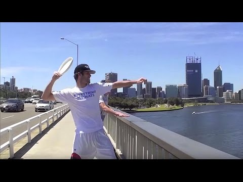 Epic Frisbee Trick Shots 2011 | Brodie Smith