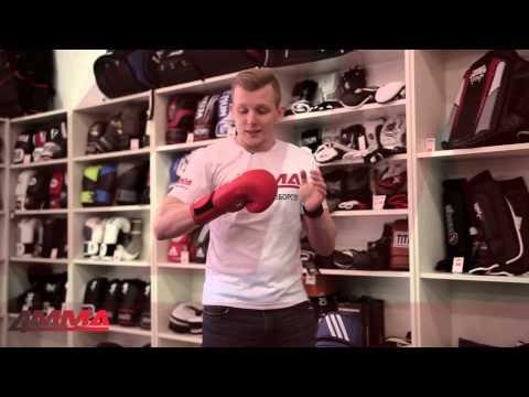 Фото:Перчатки Adidas AIBA Blue