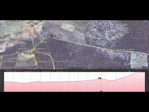 Google Earth Pro Sítio do meio, Vera Mendes PI mediçoes