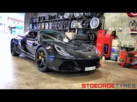 Lotus Exige S Toyo Tyres R888R Fitting - St George Tyres