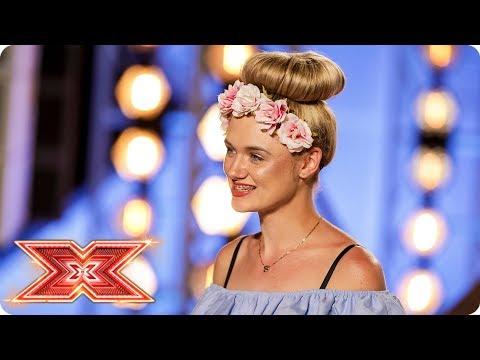 Chloe Rose Moyle sings original song Holding Out For Us | Auditions Week 3 | The X Factor 2017_TV műsorok, celebek és extrém időjárás videók toplistája
