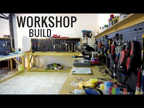 Workshop Restoration | Car Garage Build From Scratch | BMW E30 325i Sport Restoration S2 E1