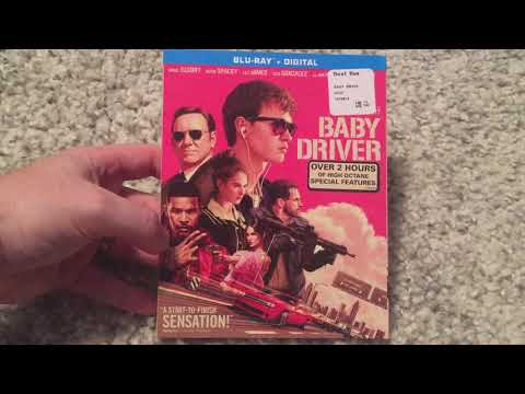 Baby Driver (2017) Bluray Unboxing! Plus UV Code Giveaway