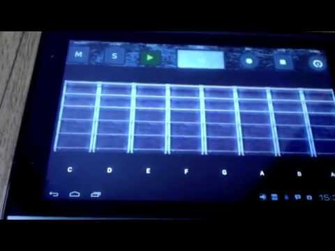 Video of Studio music - garage band