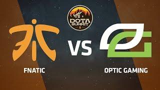 Fnatic против OpTic Gaming, Первая карта, DOTA Summit 9 LAN-Final