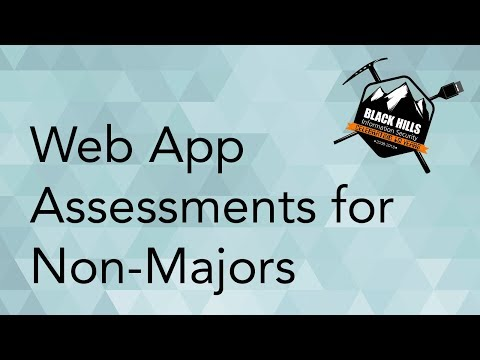 Web App Assessments For Non-Majors