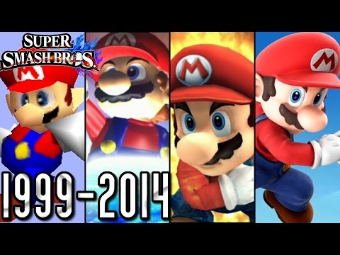 Super Smash Bros ALL INTROS 1999-2014 (Wii U, 3DS, Wii, GCN, N64)