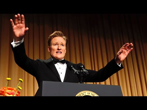 Obrien - Conan O'Brien's full comedy routine as host of the 2013 White House Correspondents' Dinner. Watch the President's full comedy routine here: http://www.youtube.com/watch?v=ZRD9ZXAhRK8 Check...