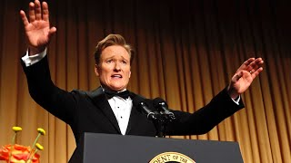 Video Conan O'Brien at the 2013 White House Correspondents' Dinner - Complete MP3, 3GP, MP4, WEBM, AVI, FLV April 2018