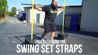 Spud and Dale demonstrate the many ways to use the Swing Set Straps!Order Yours Today!http://www.spud-inc-straps.com/swing-set-straps.html
