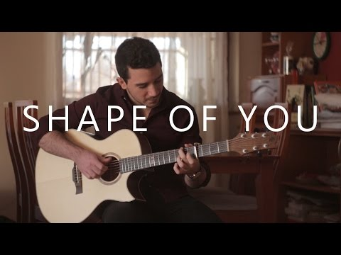 Shape of you - Guitar cover instrumental