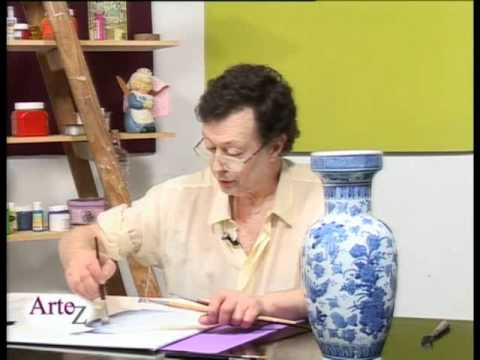 Jarrones con flores al oleo videos videos relacionados for Como pintar jarrones de ceramica