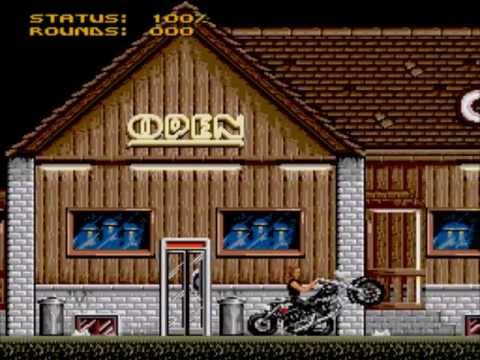 Terminator 2: Judgment Day – Level 1: The Corral | Sega Genesis | Mega Drive Playthrough!