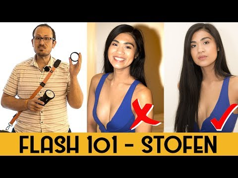 How to use a Flash Stofen Diffuser - 1 minute tip