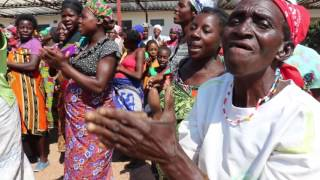 New Mothers Celebrating Receiving Donated Newborn kits in Binga, Zimbabwe