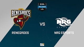 NRG vs Renegades, game 1
