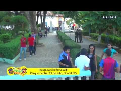 Inauguración Parque WIFI Ocotal Nueva Segovia