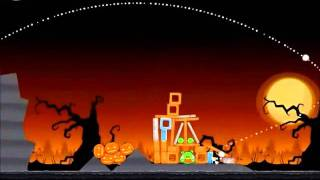 Angry Birds Seasons Walkthrough Trick or Treat 1-13
