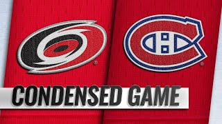 12/13/18 Condensed Game: Hurricanes @ Canadiens by NHL