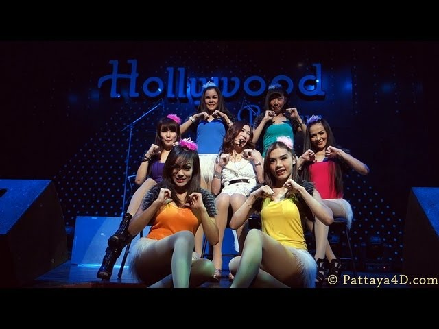 Hollywood Disco Pattaya 2013 Nightlife Real Great Entertainment