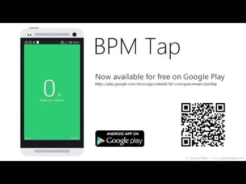 Video of BPM Tap