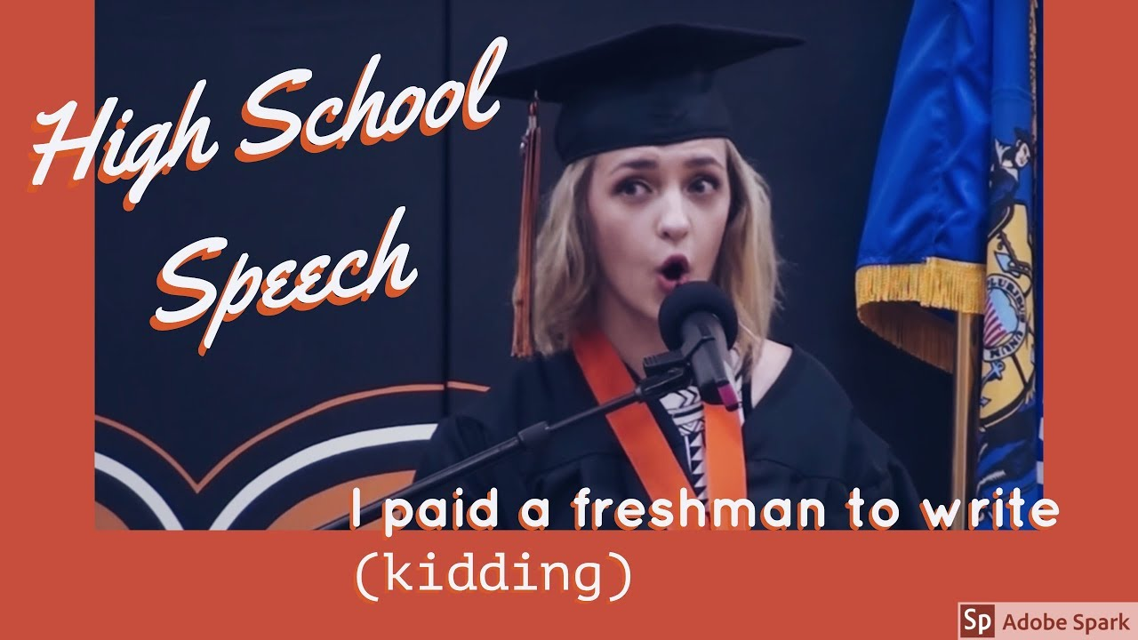 Humorous / Funny Graduation Speech