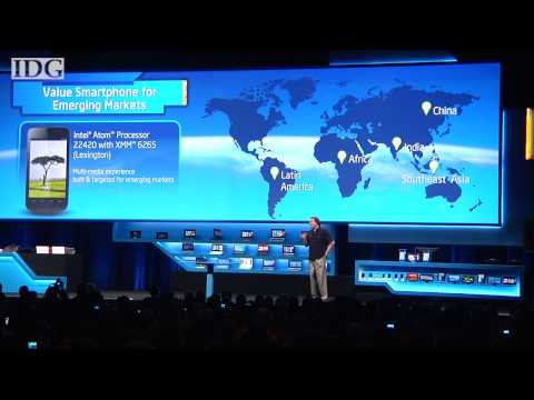 Intel\'s first quad-core Atom chip for tablets coming later this year
