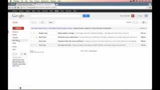 gmail Gmail Tutorial 2013 - Introduction&User Interface (Part 1)