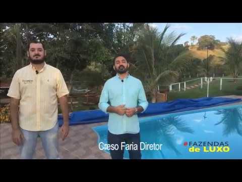 Código 02 RURAL /GOIÂNIA IMÓVEIS - 8 alqs em Taquaral - Programa FAZENDAS de LUXO TV.