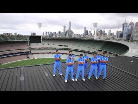Team India's New Odi Kit Launched 2015