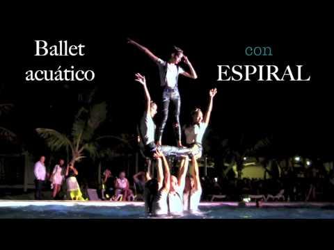 ❝Beat It❞ Ballet Acuático cum ❛Espiral❜  ② Sol Melia Paradisus Rio de Oro 2017