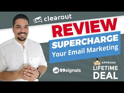 Watch 'Clearout Review - Supercharge Your Email Marketing [AppSumo Lifetime Deal - June 2019] - YouTube'