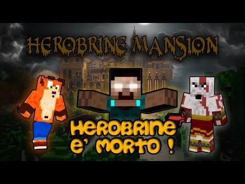 La Morte di HEROBRINE - Herobrine Mansion #4 - Minecraft Adventure Map