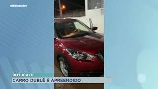 Carro dublê é apreendido pela PM de Botucatu