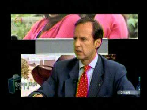 Jorge Tuto Quiroga, entrevista en Bolivia Elige de Bolivia Tv (Parte 5)